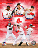 Boston Red Sox 2011 Triple Play Composite