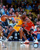 Michael Jordan & Kobe Bryant 1998 Action