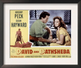David and Bathsheba, Gregory Peck, Susan Hayward, 1951