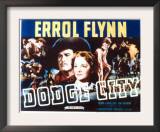 Dodge City, Bruce Cabot, Victor Jory, Errol Flynn, Guinn Williams, Olivia De Havilland, 1939