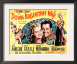 Down Argentine Way, Betty Grable, Don Ameche, Carmen Miranda, 1940