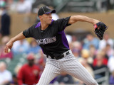 Colorado Rockies v Arizona Diamondbacks, SCOTTSDALE, AZ - FEBRUARY 26: Ubalbo Jimenez