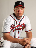 Atlanta Braves Photo Day, LAKE BUENA VISTA, FL - FEBRUARY 21:  Chipper Jones #10