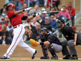Colorado Rockies v Arizona Diamondbacks, SCOTTSDALE, AZ - FEBRUARY 26: Chris Young