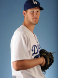 Los Angeles Dodgers Photo Day, GLENDALE, AZ - FEBRUARY 25: Clayton Kershaw