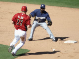 Milwaukee Brewers v Arizona Diamondbacks, SCOTTSDALE, AZ