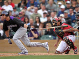 Colorado Rockies v Arizona Diamondbacks, SCOTTSDALE, AZ - FEBRUARY 26: Troy Tulowitzki