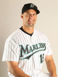Florida Marlins Photo Day, JUPITER, FL - FEBRUARY 23: Gaby Sanchez