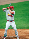 St. Louis Cardinals v Florida Marlins, JUPITER, FL - MARCH 01: Matt Holliday