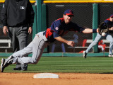 Cleveland Indians v Cincinnati Reds, GOODYEAR, AZ - FEBRUARY 28: Adam Everett