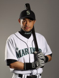 Seattle Mariners Photo Day, PEORIA, AZ - FEBRUARY 20: Ichiro Suzuki