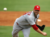 St. Louis Cardinals v Florida Marlins, JUPITER, FL - MARCH 01: Chris Carpenter