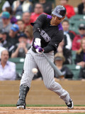 Colorado Rockies v Arizona Diamondbacks, SCOTTSDALE, AZ - FEBRUARY 26: Carlos Gonzalez