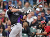 Colorado Rockies v Arizona Diamondbacks, SCOTTSDALE, AZ - FEBRUARY 26: Chris Iannetta
