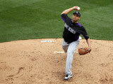 Colorado Rockies v Arizona Diamondbacks, SCOTTSDALE, AZ - FEBRUARY 26: Claudio Vargas