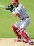 St. Louis Cardinals v Florida Marlins, JUPITER, FL - MARCH 01: Yadier Molina