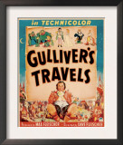 Gulliver's Travels, Window Card, 1939