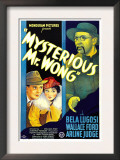Mysterious Mr. Wong, Wallace Ford, Arline Judge, Bela Lugosi, 1935