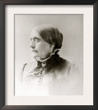 Susan B. Anthony, American Women's Rights Pioneer in 1870s