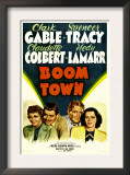 Boom Town, Claudette Colbert, Clark Gable, Spencer Tracy, Hedy Lamrr, 1940