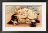 Hoytes Cologne, Dogs, Womens, USA, 1890