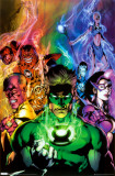 Green Lantern - Blackest Night Poster