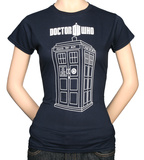 Juniors: Dr. Who - Tardis Vector Graphic