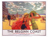 The Belgian Coast, SR/LNER, c.1930s