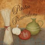 Pasta Pomodor Art Print