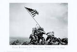 Iwo Jima-Flag Raising