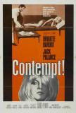 Le mépris, film de Jean-Luc Godard avec Brigitte Bardot, 1963