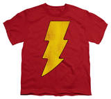 Youth: DC-Shazam Logo Distressed