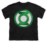 Youth: Green Lantern - Green Chrome Logo