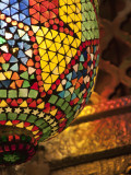 Lamp in Antique Shop, Marrakech, Morocco