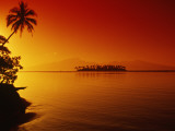 Buy Sunset, Moorea, French Polynesia at AllPosters.com