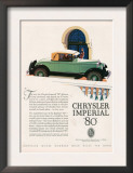 Chrysler Imperial, Magazine Advertisement, USA, 1927