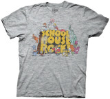 School House Rock - Logo w/ Characters (Slim Fit)