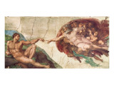 Creation of Adam Premium Giclee Print