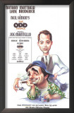 The Odd Couple - Broadway Poster