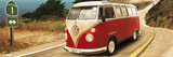 VW Camper - Route One Poster