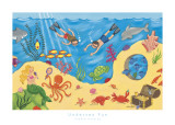 Undersea Fun Art Print