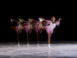 Sequence of Female Figure Skater in Action