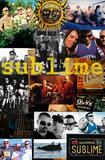 Sublime - Collage Giant Poster