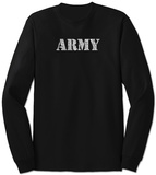 Long Sleeve: Lyrics To The Army Song