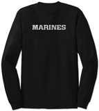 Long Sleeve: Lyrics To The Marines Hymn