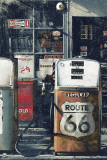 Route 66 - Gas Station Poster