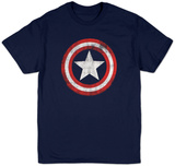 Captain America - Distressed Shield