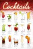 Cocktails - English Poster