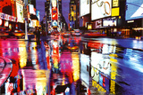 Times Square New York - City Color Reflections Poster