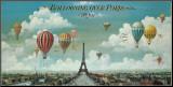 Vol en ballon au-dessus de Paris